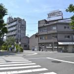 「寺田町駅」南口を出て正面にある大道南公園を横切